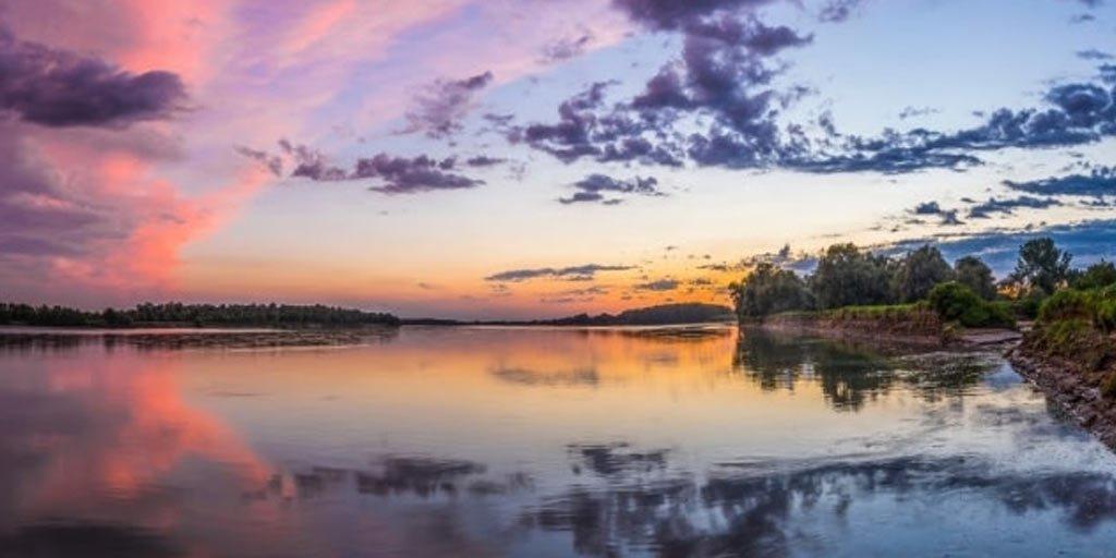Sentieri naturalistici sul fiume Po